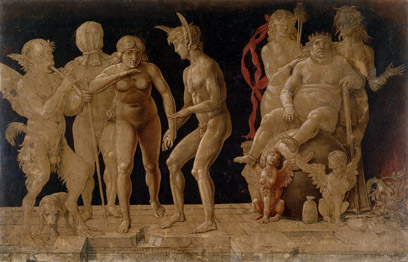 Andrea Mantegna, Allegory of the Fall of Ignorant Humanity