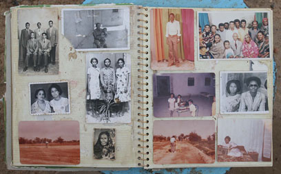 Family photograph album
