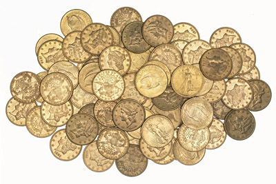 The entire hoard. © Portable Antiquities Scheme