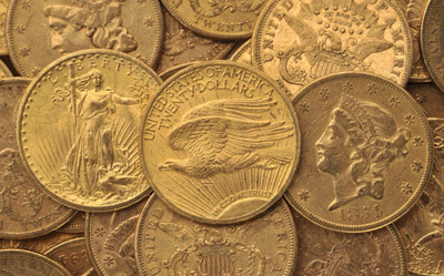 The coins were minted between 1854 and 1913. © Portable Antiquities Scheme