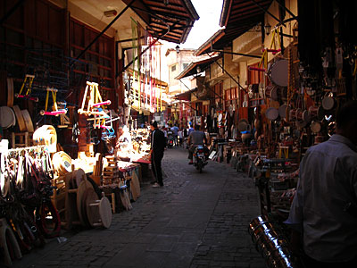Shopping in the Gaziantep souk