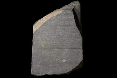 Rosetta Stone, from Egypt, 196 BC