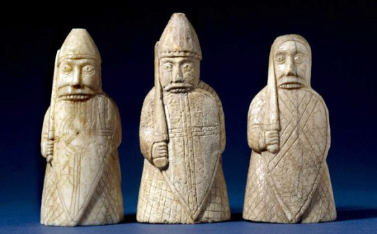 SBerserker pieces in the British Museum collection