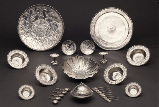 The Mildenhall treasure is one of the most important collections of late-Roman silver tableware from the Roman Empire.