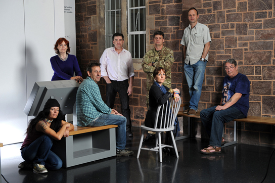 Current and former armed forces staff involved in the Once a Warrior project