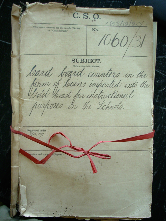Documents from the 1930s