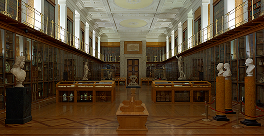 The Enlightenment gallery at the British Museum