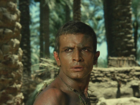 Ahmed Marei as the peasant in Shadi Abd el-Salam's film; courtesy of the World Cinema Foundation and the Egyptian Film Centre.