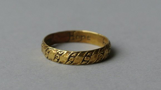 Mourning ring, 17th century