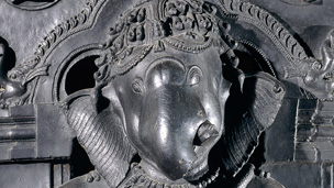 Detail of Ganesha statue
