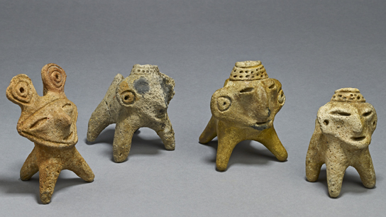 Ceramic votive offerings from Lake Guatavita, Muisca, AD 600-1600 (exh. cat. pp. 26-7)