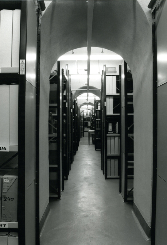 image of the The Central Archive store at the British Museum