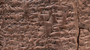 Detail of a cuneiform tablet