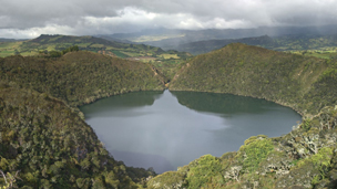 View of Lake Guatavita