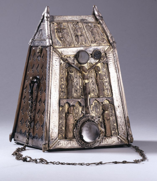 Shrine made for Saint Conall Cael's bell in the AD 1400s (1889,0902.23)