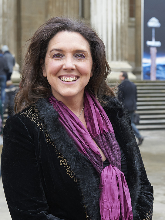 Vikings Live presenter Bettany Hughes