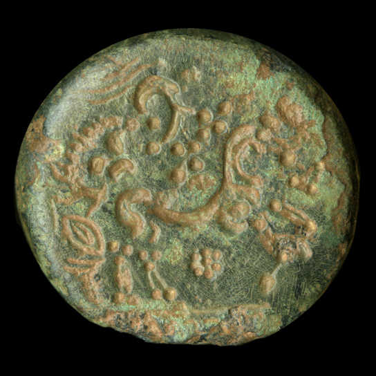 Iron age coin die