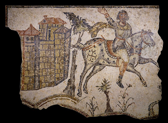 Mosaic from Bord-Djedid near the site of Carthage. Late 5th – early 6th century, (1967,0405.18)