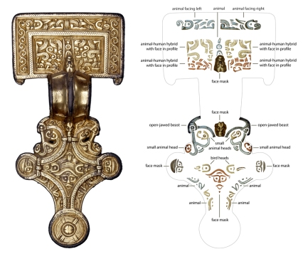 Decoding the great square-headed brooch from Chessel Down