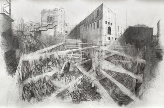 'WCEC Excavation' 2012 © Liam O'Connor