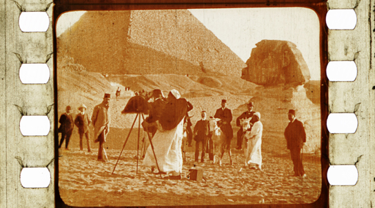 From Cairo to the Pyramids ( Pathé, 1905).
