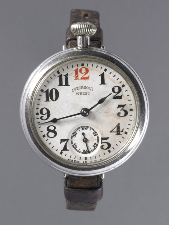 Robert H. Ingersoll & Bro wristwatch. USA, 1915