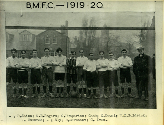 British Museum Football Club 1919-20