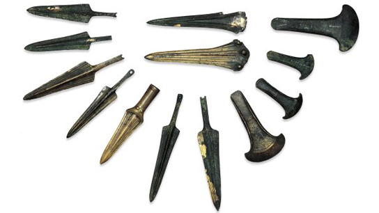 Image result for Bronze age tools found in britain