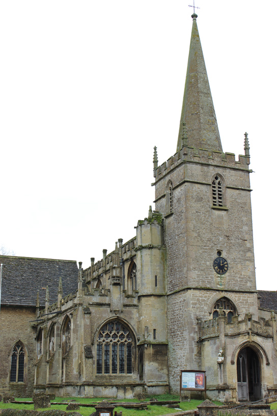 Saint Cyriac's Church, Lacock, Wiltshire.
