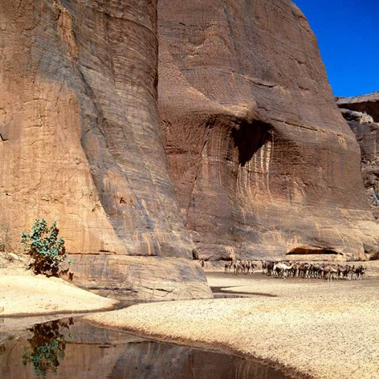 The Archei Geulta (water pocket), Chad