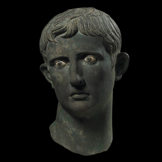 The Meroë Head. Roman, 27–25 BC (British Museum 1911,0901.1)