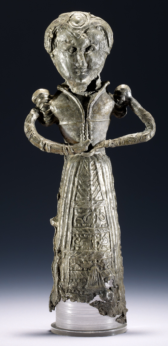 Pewter doll, late 16th century (British Museum 2009,8020.5)