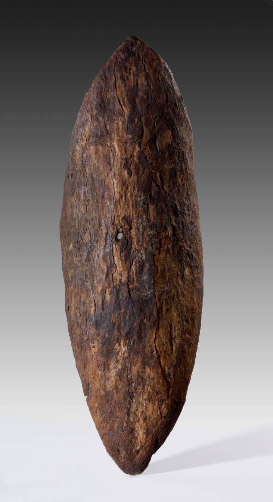 Attributed to Botany Bay (Sydney), New South Wales, c. 1770. L 900 mm. British Museum, London Oc1978,Q.839