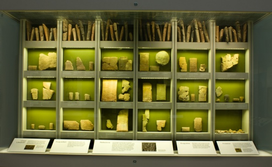 The new display of Ashurbanipal's Library in Room 55. Photo by Alberto Giannese; © The Trustees of the British Museum