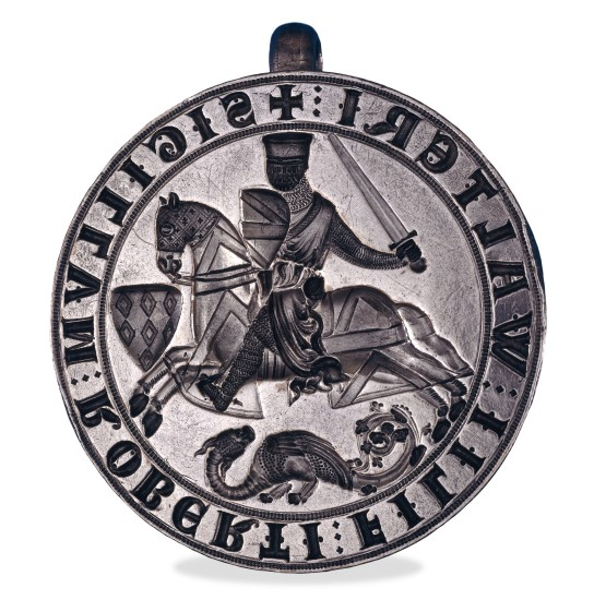 Seal matrix of Robert Fitzwalter. British Museum 1841,0624.1
