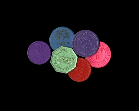 Collection of Co-operative tokens
