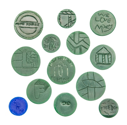 Image 9_New Horizon coin designs in wax